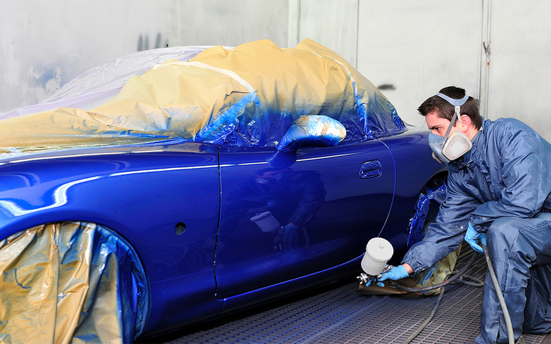 5 Tips Keselamatan Untuk Proses Pengecatan Body Mobil yang Tergores