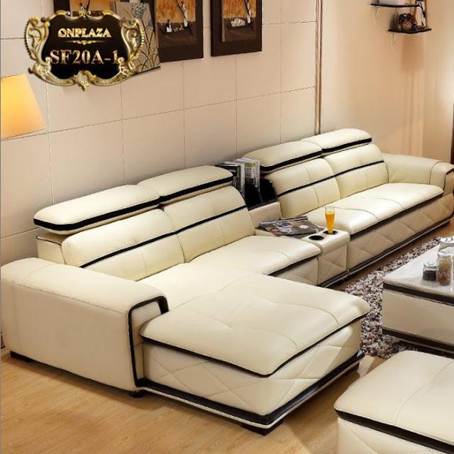 Sofa hình chữ L sang trọng, lịch sự