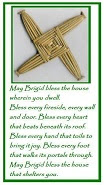 st brigids cross and blessing