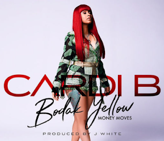"Cardi B ""Bodak Yellow"" Album Cover"