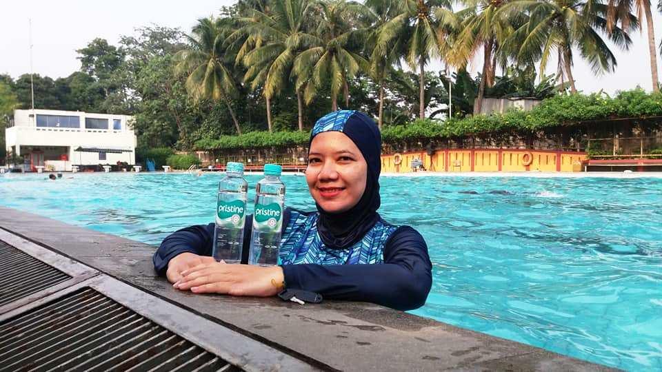manfaat gaya pristine 8 berenang cara hidup sehat netral dan seimbang nurul sufitri blogger perempuan hotel bumi wiyata depok