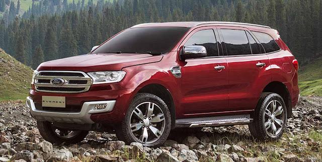 Ford Everest 2016 giá chát do thuế cao và khan hiếp