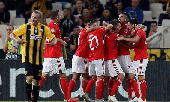 AEK Athens vs Benfica