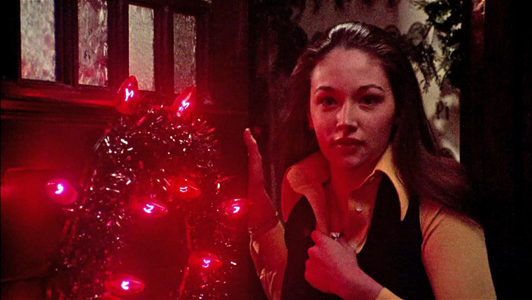 Olivia Hussey als Jessica in BLACK CHRISTMAS (Bob Clark, 1974). Quelle: Screenshot Critical Mass Blu-ray