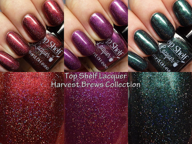 Top Shelf Lacquer Harvest Brews Collection