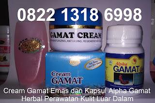 Jual cream pemutih penghilang jerawat gamat gold/emas herbal alami