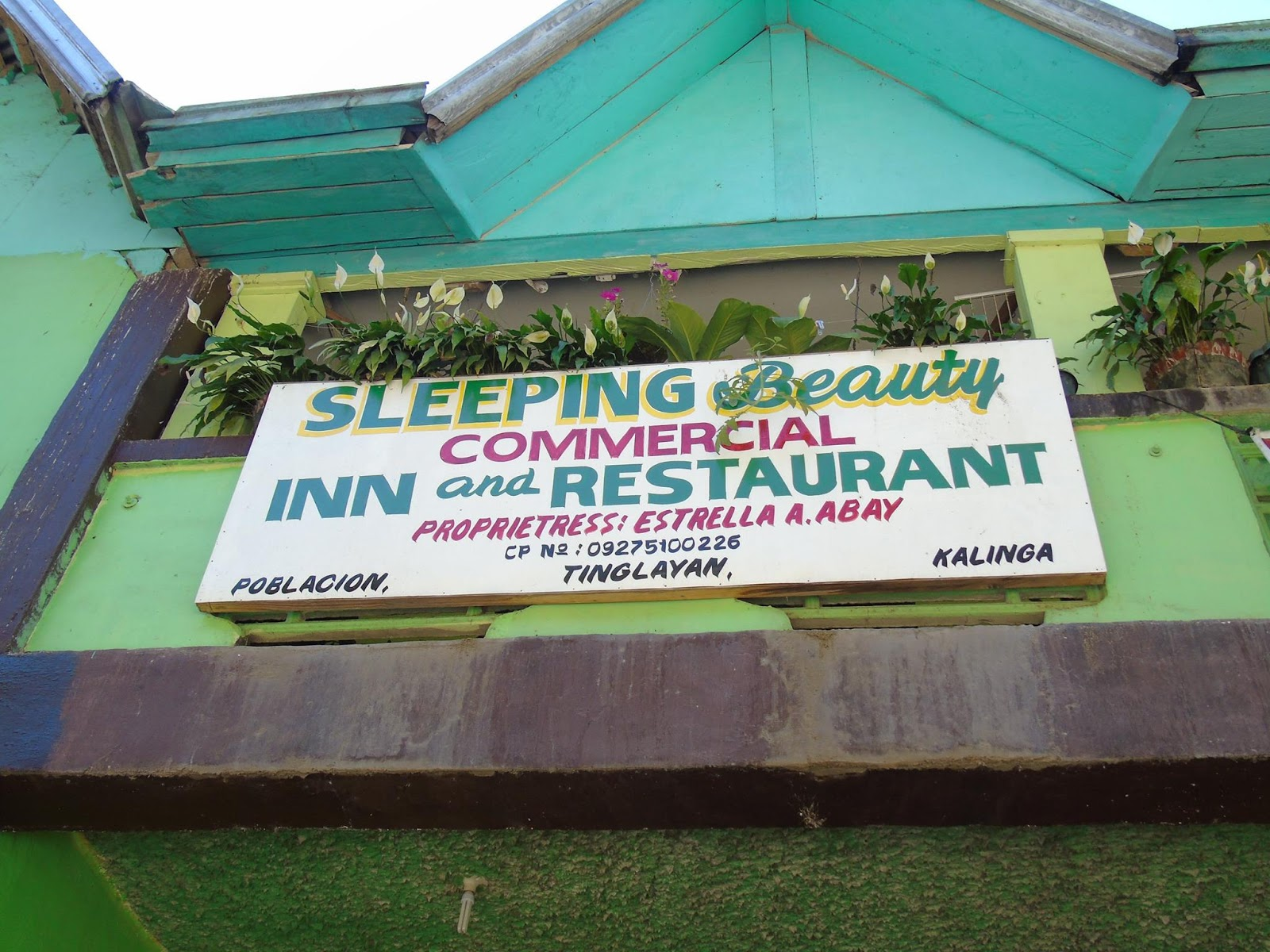 The Sleeping Beauty Inn, Tinglayan, Kalinga