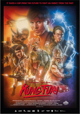kung fury plakat film recenzja