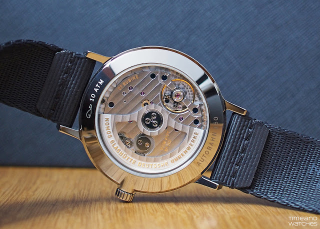 The DUW 6101 Calibre of the Nomos Glashütte Autobahn