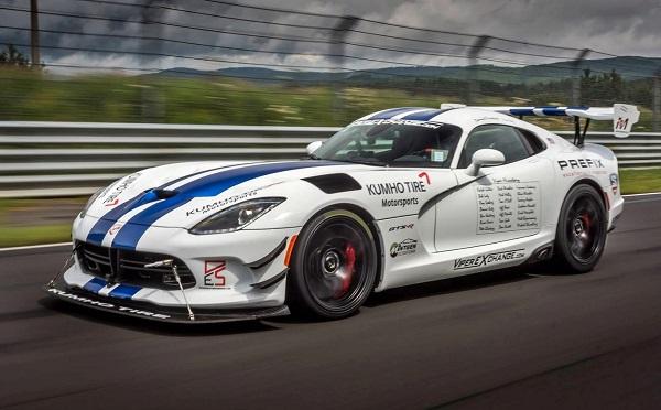 Dodge Viper GTS-R Nürburgring