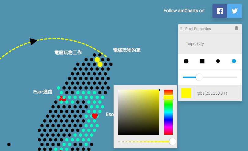 輕鬆自製會說重點的簡報地圖!台灣與世界地圖圖表免費產生器