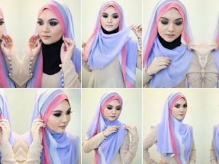 Tutorial Hijab Segi Empat Paling Up Date