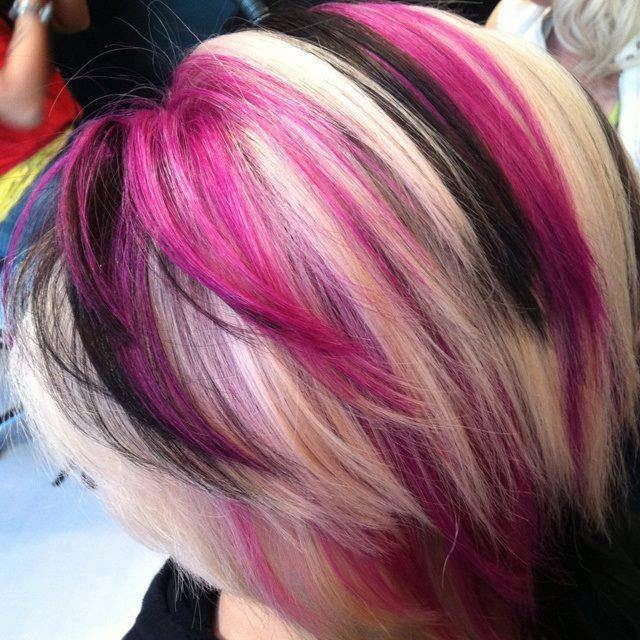 A month in hair colors! Today: wild hair colors! - The ...