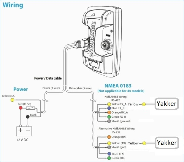 7 pin wiring diagram for a lowrance transducer  79 chevy