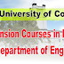 Extension Courses in English - 2018 | University of Colombo