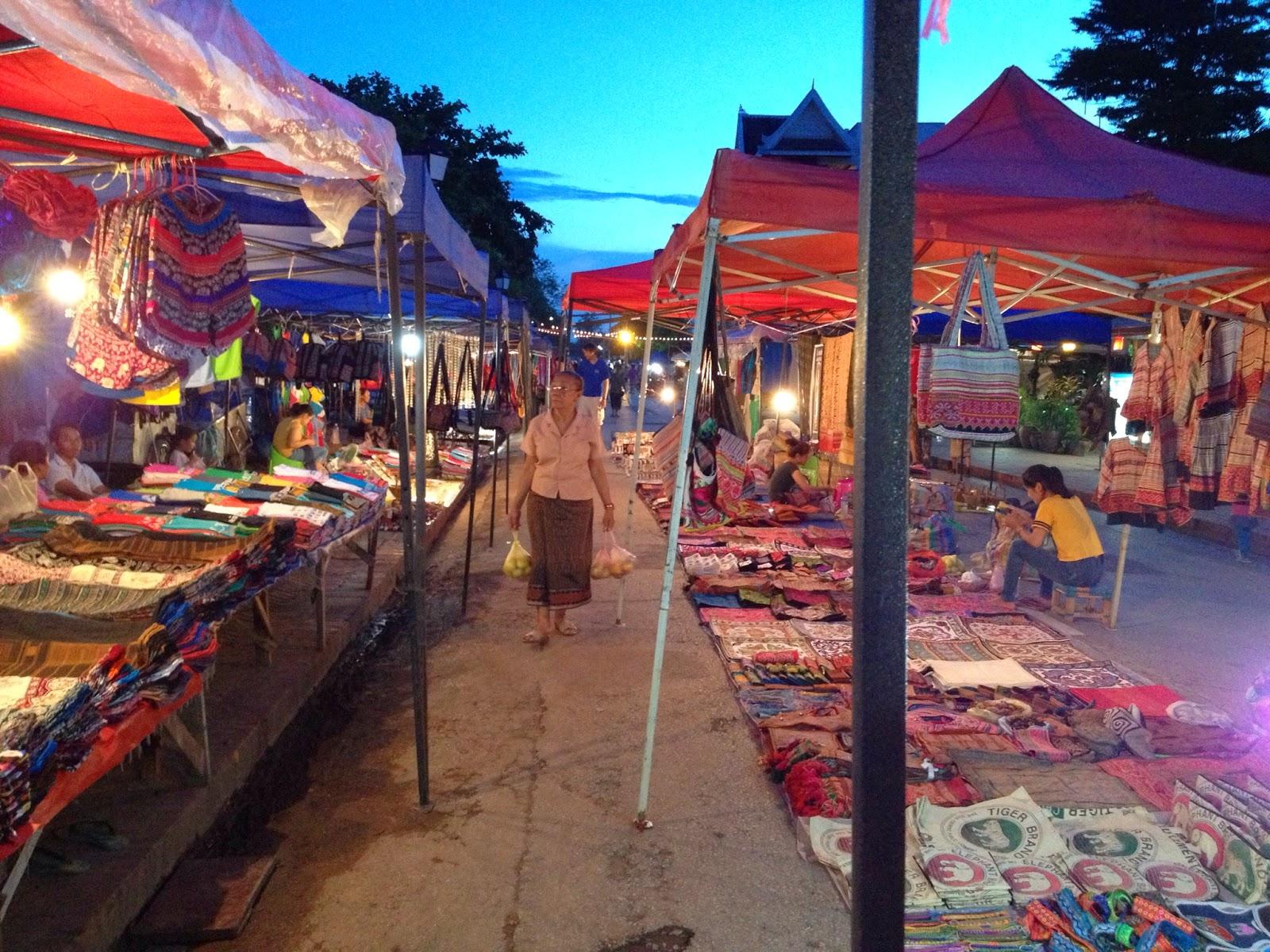 Luang Prabang - Night market