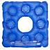 Almofada gel quadrada com orifício