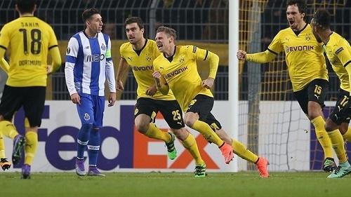 Cầu thủ Lukasz Piszczek đã có những đóng góp lớn giúp cho đội tuyển Dortmund có chiến thắng dễ trước FC Porto