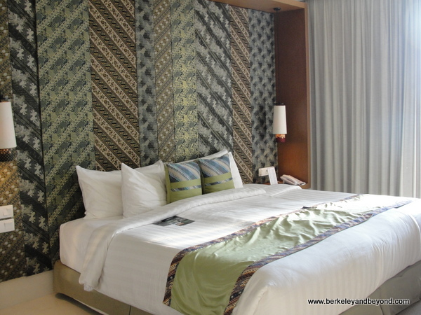 guest room bed at Vasanti Seminyak Resort Bali