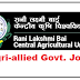 Agri-Allied Govt. jobs in Rani Lakshmi Bai Central Agricultural University