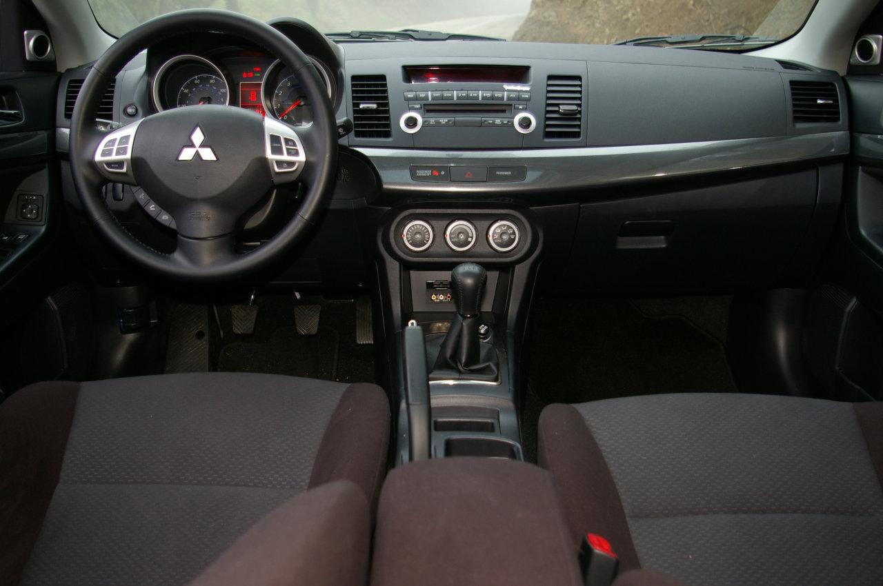 lancer mitsubishi interior updates cars