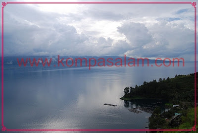 Largest Volcanic Lake at Lake Toba.