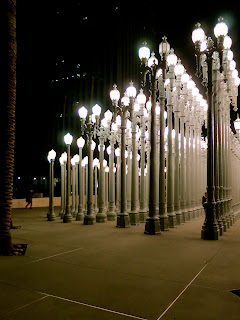 Urban Light Chris Burden Los Angeles Contemporary Museum of Art