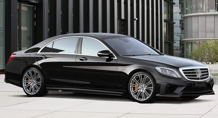 Imsa Gives Mercedes Benz S63 Amg 710 Horses To Play With