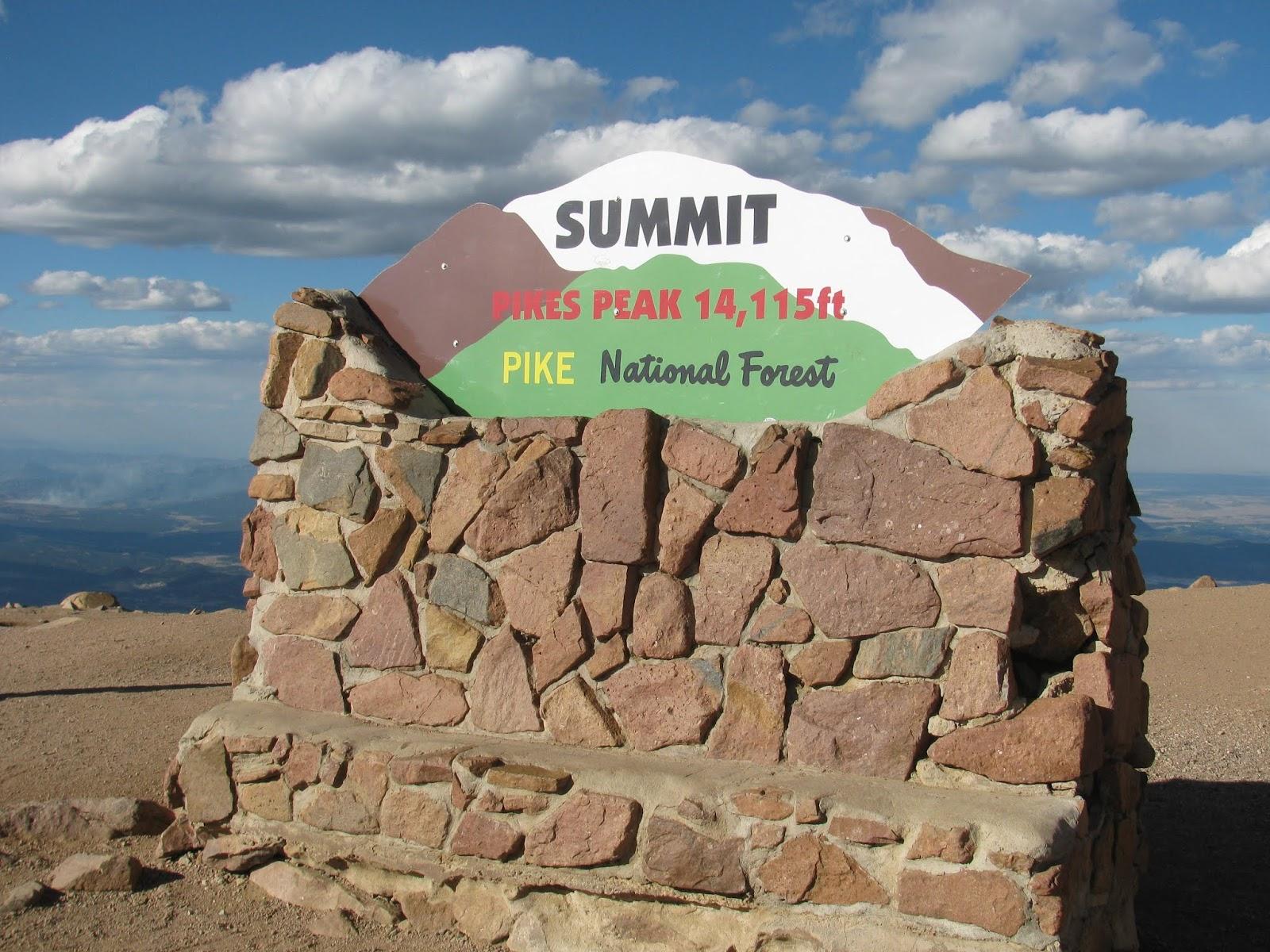 weekend wanderluster pikes peak drive el paso county colorado