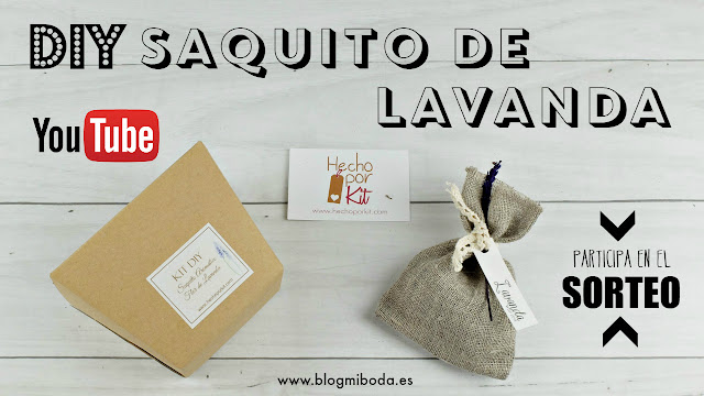 sorteo DIY saquitos de lavanda - blog mi boda