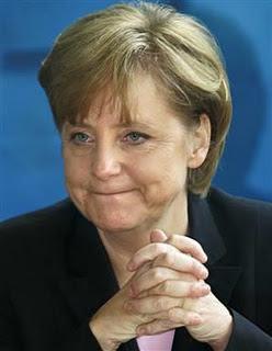Jerman Menang, Kanselir Angela Merkel Trenyuh