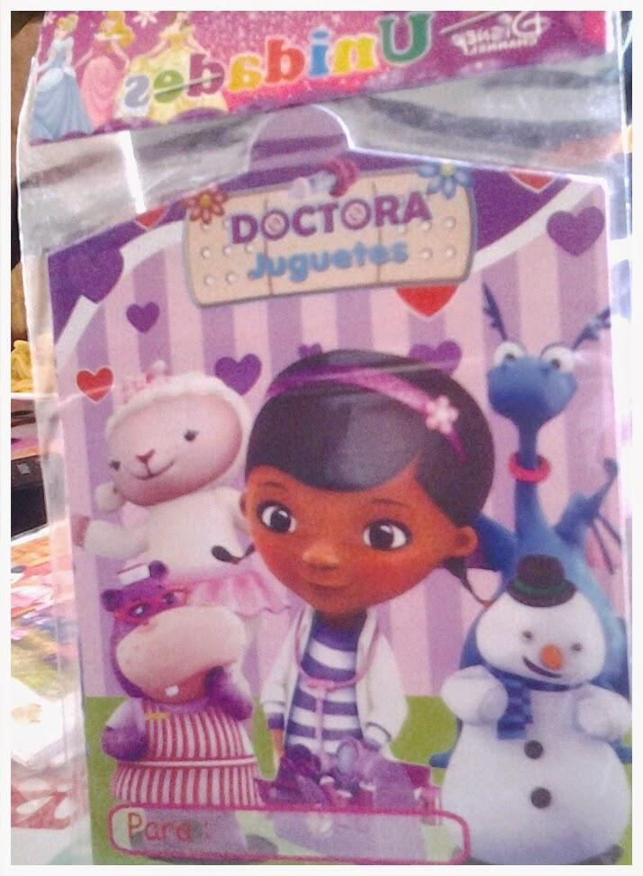 Doctora juguetes articulos de cumpleanos creaciones - Accesorios de cumpleanos infantiles ...