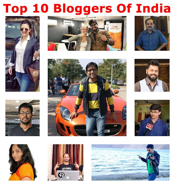 top-bloggers-in-india