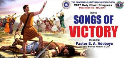 RCCG Holy Ghost Congress 2017 LIVE STRAM
