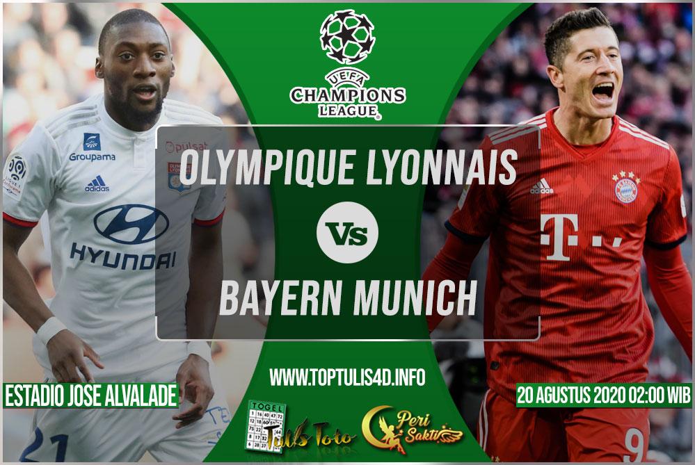 Prediksi Olympique Lyonnais vs Bayern Munich 20 Agustus 2020