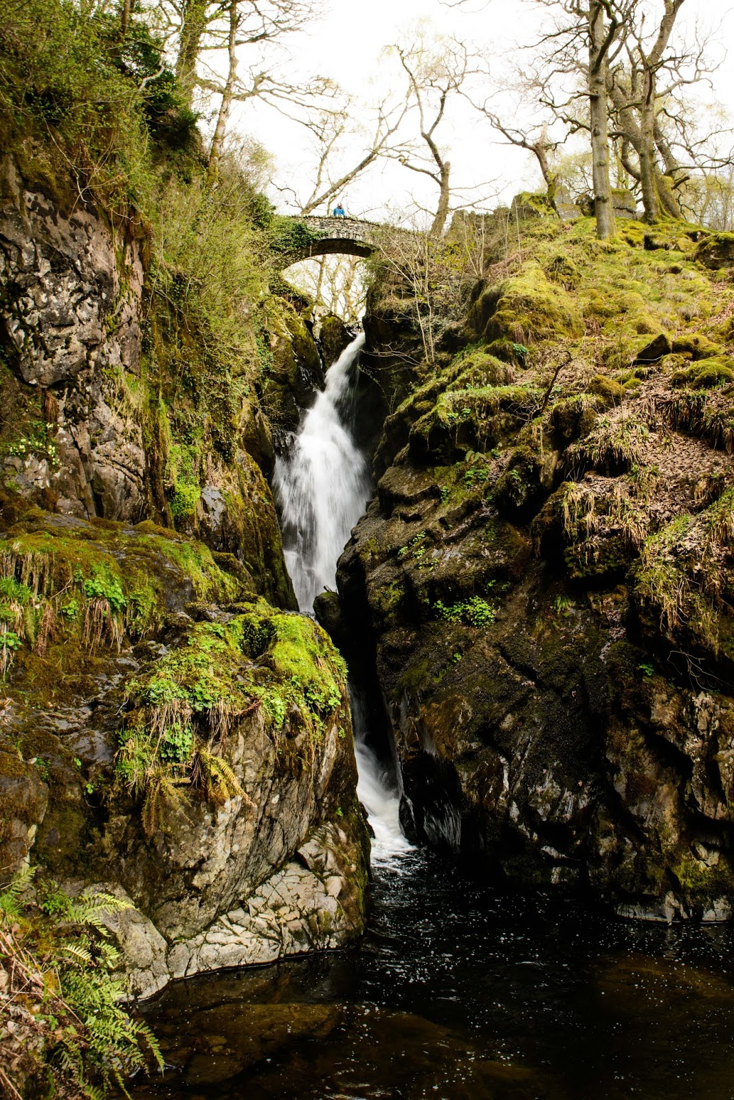 aira force ullswater waterfall liquid grain liquidgrain lake district