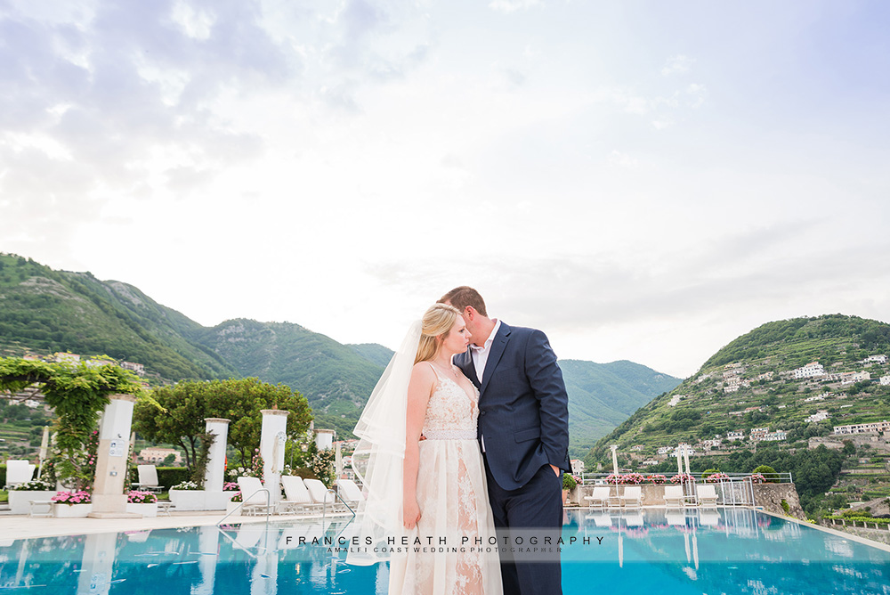 Hotel Caruso wedding