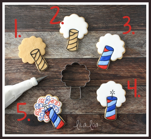 How to make Independence Day decorated sugar cookies!!