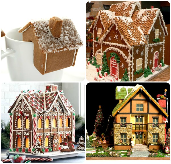 Extreme Christmas Trees: Gingerbread House Making