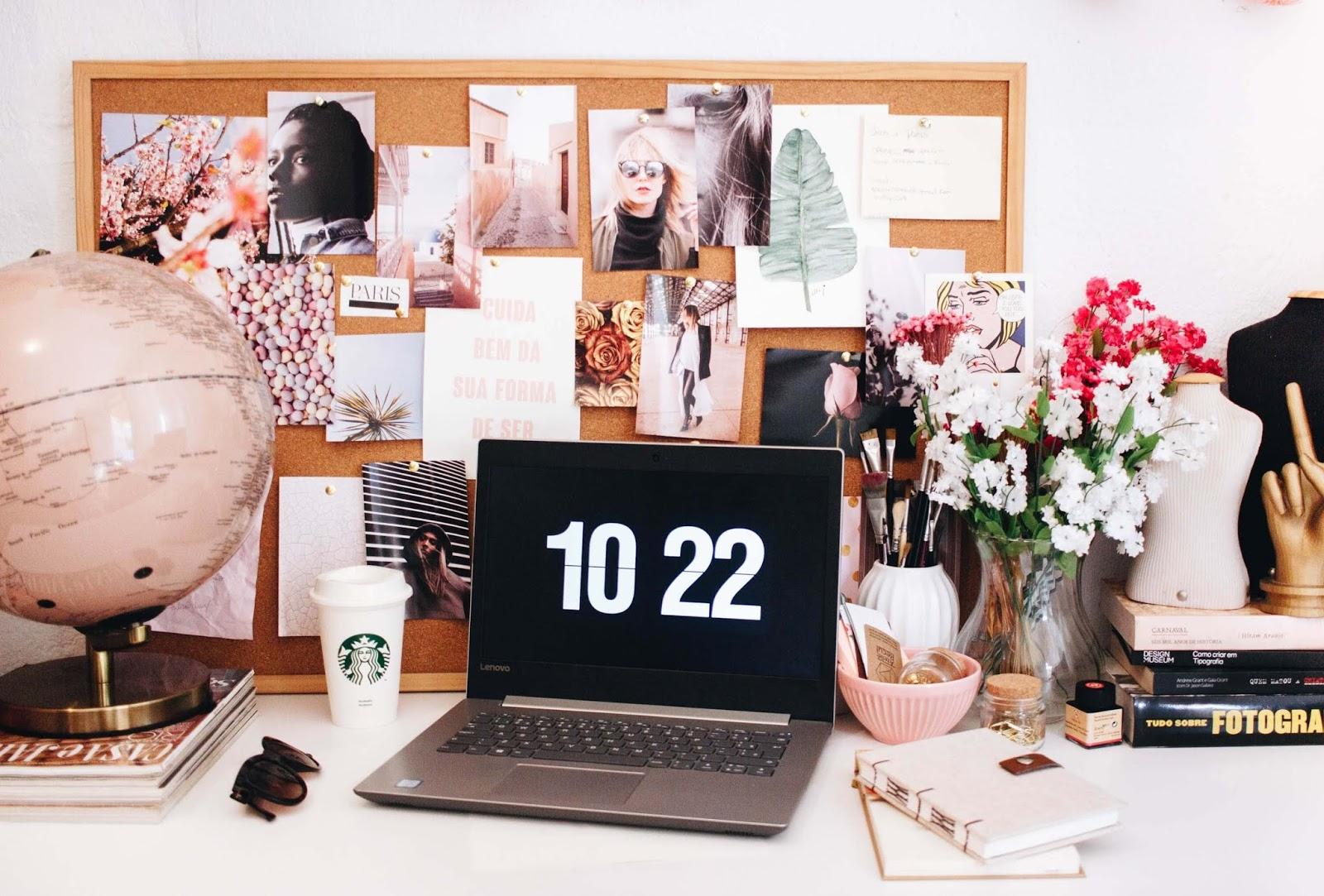 Hábitos secretos de blogueiras de sucesso