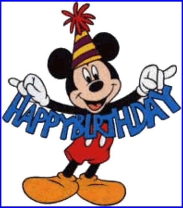 clipart disney happy birthday - photo #28