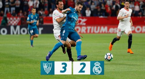 Sevilla vs Real Madrid 3-2 Highlights - La Liga
