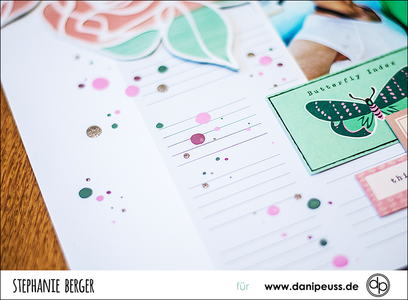 Stephanie Berger - Scrapbooking - Dani Peuss - Kiss