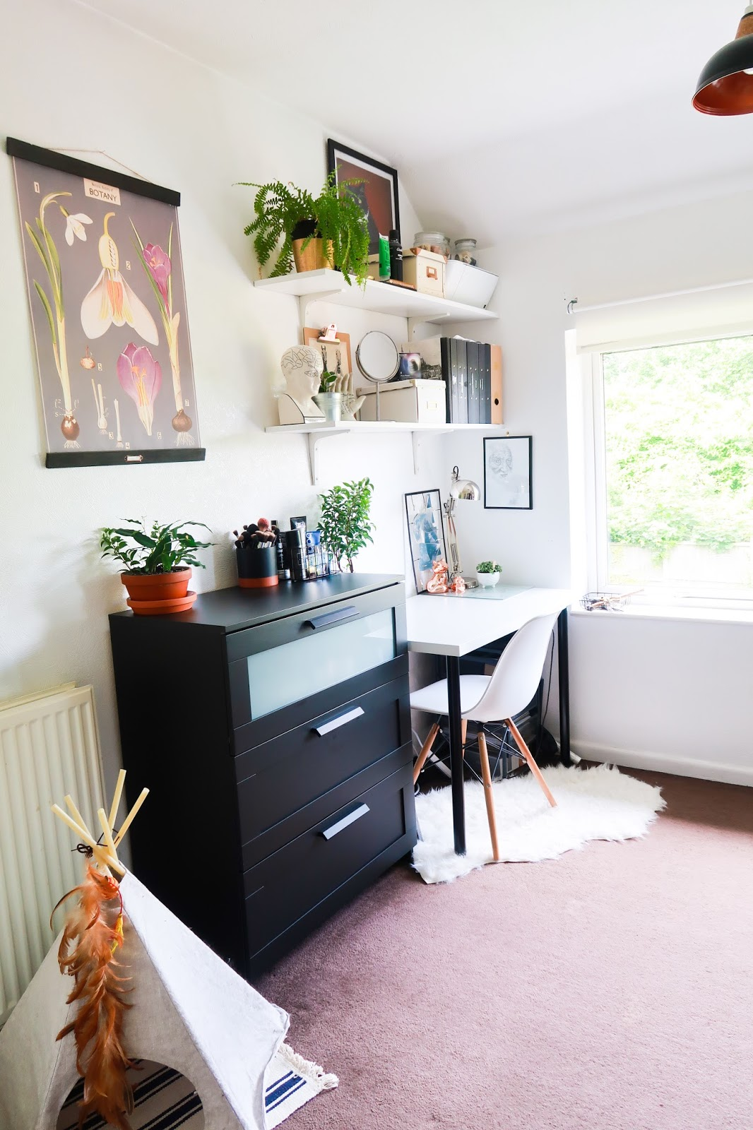 Workspace and dressing room inspiration