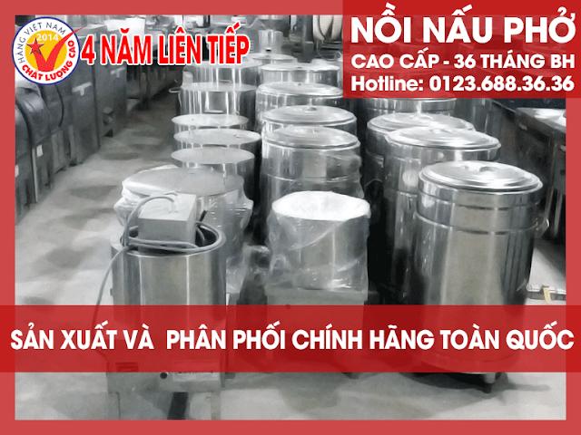 Bán nồi nấu phở cao cấp, chất lượng hàng đầu Việt Nam