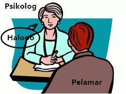 Jawaban tes wawancara psikologi lengkap engan pertanyaan yang keluar