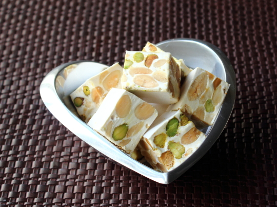 Food wishes video recipes torrone italian nut nougat confection torrone italian nut nougat confection a stirring valentines day treat forumfinder Image collections