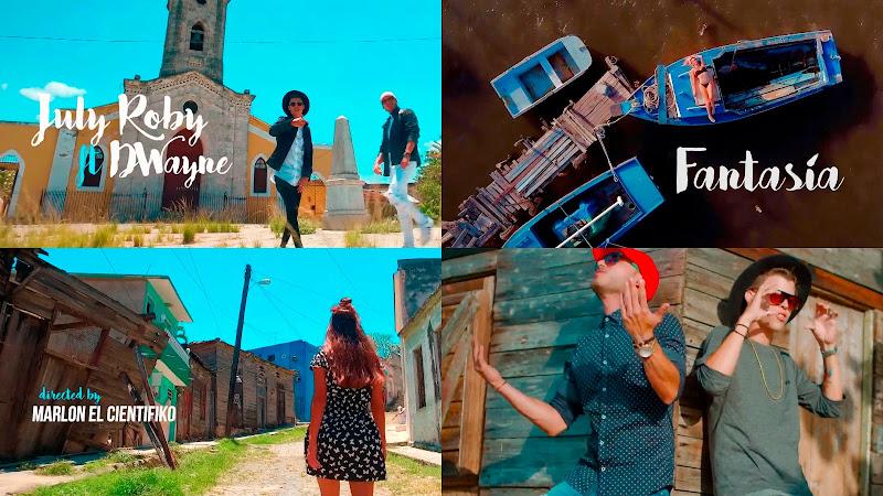 July Roby & Dwayne - ¨Fantasía¨ - Videoclip - Dirección: Marlon El Científiko. Portal del Vídeo Clip Cubano