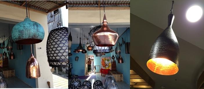 Lampu Gantung Tembaga -Kuningan Jaya Indah Logam