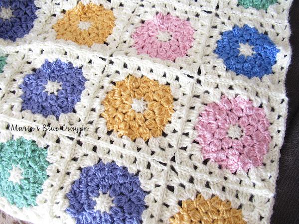 Spring Granny Afghan Crochet Along